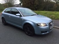 2006 AUDI A3 1.9 TDI SE, UPGRADED ALLOYS, L.E.D HEADLIGHTS & S3 STEERING WHEEL, NICE CLEAN CONDITION