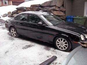 Jaguar S-Type a vendre en pièces