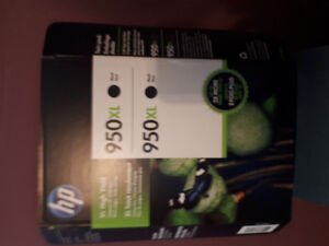 HP INK 2 Pack 950 XL  NEW in Package
