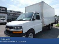 2015 CHEVROLET Express Cutaway 14', ROUES SIMPLE, RAMPE, AUTO, A