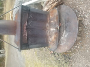 Old woodstove similar to picture