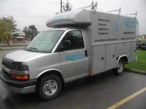 2014 Chevrolet Express 3500 Cutaway with Reading Service Body