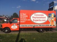 Is Your Driveway Cracked, Broken, and Sunk? Needs Replacement?