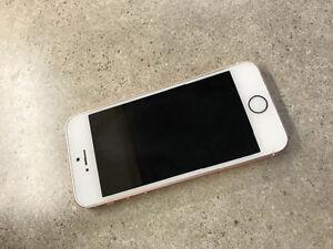 iPhone SE - 64GB - Rose Gold - quick sale!