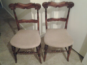 Pair of Antique small chairs
