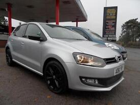 12 (61) VW POLO 1.4 MATCH 5DR ONE PREVIOUS OWNER, 37,800 MILES FULL