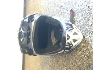 BMX Fly, full face racing helmet size M