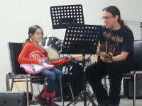 Music Lessons for Guitar, Cello, Drums, Bass Guitar and Theory.
