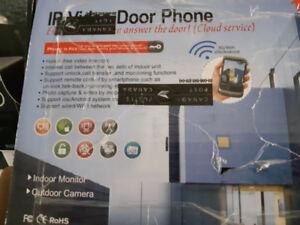 Ip video door phone.indoor monitor  out door camera