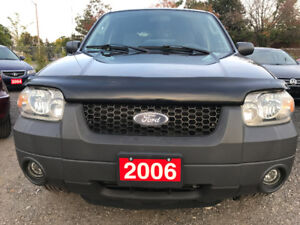2006 Ford Escape XLT SUV, Crossover Brand New tires,Low km