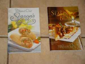 PAMPERED CHEF 2  COOK BOOKS