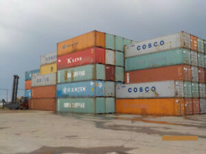 40' High Cube Shipping Container Used