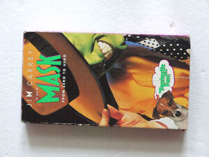 The Mask. From Zero To Hero. VHS Tape. (1995) Jim Carrey