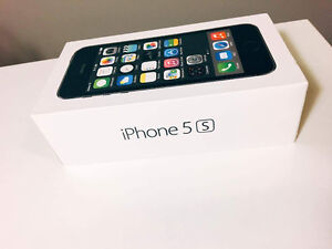 IPhone 5S Space Grey 16GB Fido - Box included Kitchener / Waterloo Kitchener Area image 4
