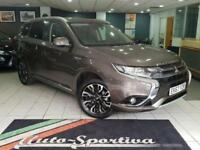 2018 Mitsubishi Outlander 2.0 3h CVT 4x4 5dr (Leather, 5 seats) PETROL/ELECTRIC