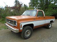 1973 Chevrolet K20 4x4 pu