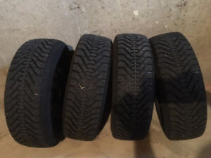 Mitsubishi Winter tires and Rim P195/65R14, Bolt Pattern 4X100