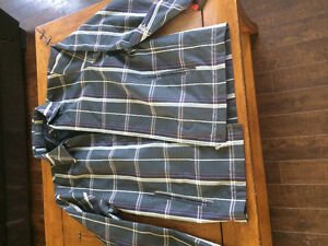 Men's plaid summer jacket