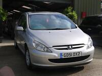 Peugeot 307 2.0HDi 90 2001MY Rapier. NEW CLUTCH JUST FITTED. MOT MAY 17