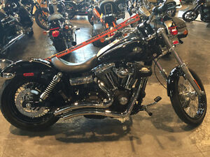 Harley Dyna Wide Glide with upgrades and LOW KM