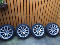 """Audi TT mk2 18"""" alloys with Bridgestone tyres"""