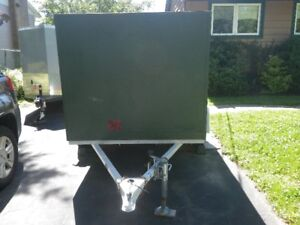 Home Made Enclosed Utility Trailer
