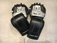 Reebok boxing gloves and pads