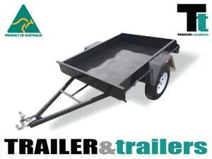 "6x4 Trailer Light Duty | 9"" SIDES 