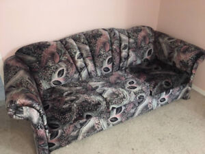 2 PC Sofa bed and Loveseat  On Sale
