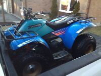 Original 1986 Polaris Trail Boss 250ES ATV