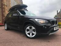 *3 MTHS WARRANTY*2013(13)BMW X1 2.0 18 DIESEL SE XDRIVE WITH ROOF EXTRAS*