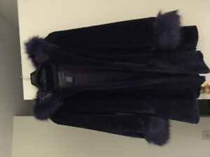 Olympia faux fur coat for sale