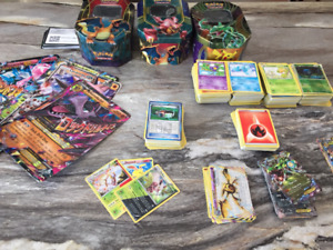 Grand lot de cartes pokemon +600