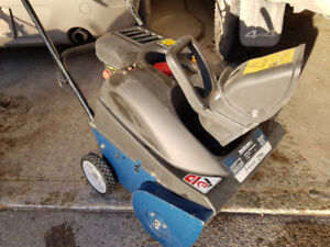 single stage snowblower in excellent shape