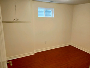 North York 3 Bedroom Basement Apartment for Rent