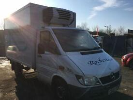 2003 Mercedes benz Sprinter 3.5t Chassis Cab 4 door Refridgerated Box