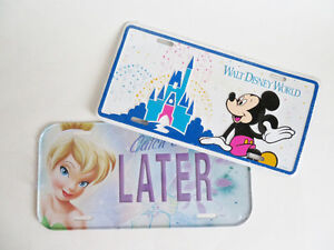 Disney Novelty License Plates New in Package