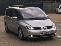 MUST SEE 2005 RENAULT GRAND ESPACE 3.0V6 DCI INITIALE AUTOMATIC VERY LOW MILEAGE FSH PX