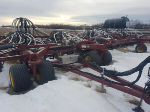 Seedhawk 6612,  Concord 6012, Bourgault 6550