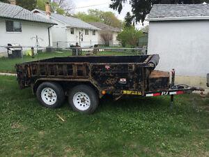 5 by 10 dump trailer $4000.00 firm
