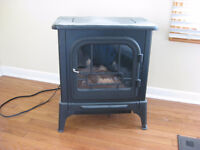 Electric fireplace asking $99 OBO