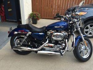 2016 Harley Davidson Sportster 1200XC Custom Superior Blue