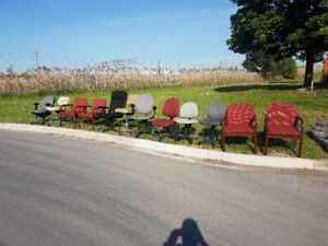 Free office chairs.