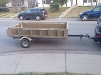 Utility trailer and hitch