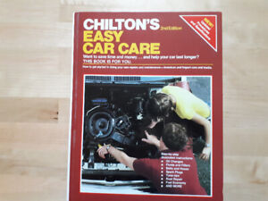 Chilton's Easy Car Care 2nd Edition (1985) Near mint hardcover
