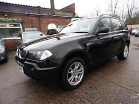 BMW X3 2.0d SE ( 1 OWNER FROM NEW + 12 MONTHS MOT)