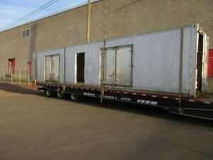 40ft sea container trailer style