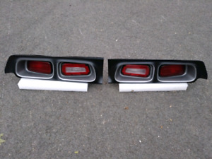 1972-1974 Challenger tail light assembly pair