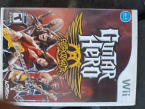 Wii Rock band and guitar hero $5 each