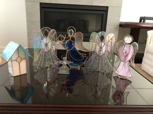 Stained Glass Angels - Handmade